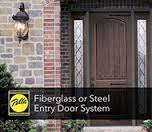 door fiberglass or steel