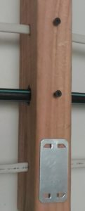 Cable Protector Plates in-use
