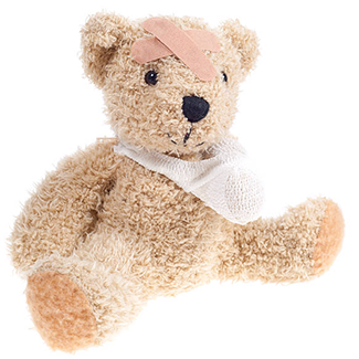 teddy bear injuried_2